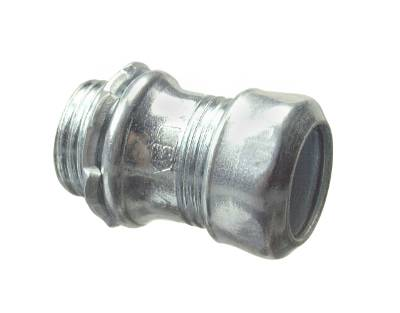 EMT STEEL COMPRESSION CONNECTOR