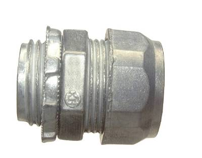 Compression Connector-Insulated Throat